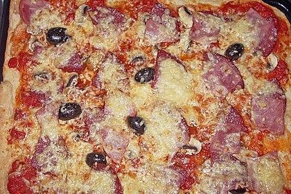 Pizzaboden - dünn und knusprig 100
