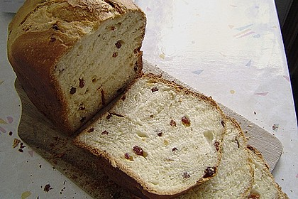 Rosinenstuten für den Brotbackautomat 2