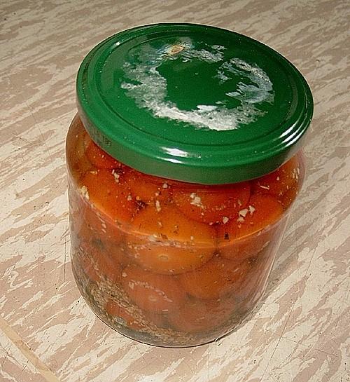 eingelegte frische tomaten rezept mit bild von schraegervogel. Black Bedroom Furniture Sets. Home Design Ideas