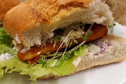 Fischstäbchen-Burger 5