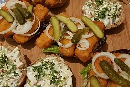 Fischstäbchen-Burger 2