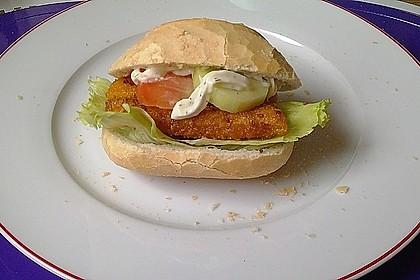 Fischstäbchen-Burger 6