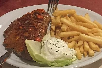 botos Bifteki mit griechischem Tomatenreis 8