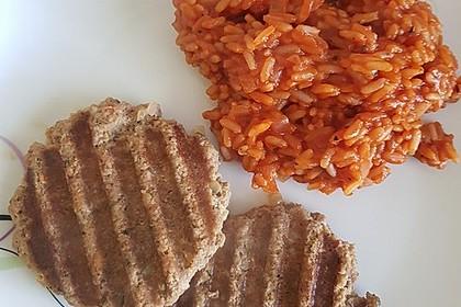 botos Bifteki mit griechischem Tomatenreis 28