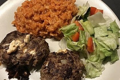 botos Bifteki mit griechischem Tomatenreis 14