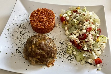 botos Bifteki mit griechischem Tomatenreis 29