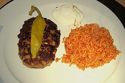 botos Bifteki mit griechischem Tomatenreis 20