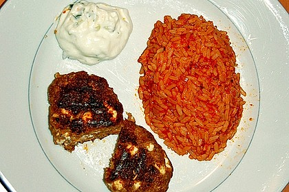 botos Bifteki mit griechischem Tomatenreis 41