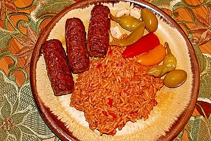 botos Bifteki mit griechischem Tomatenreis 18