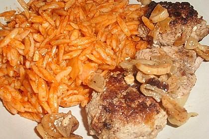 botos Bifteki mit griechischem Tomatenreis 50