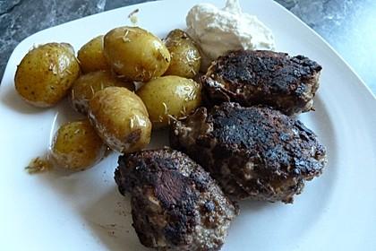 botos Bifteki mit griechischem Tomatenreis 47