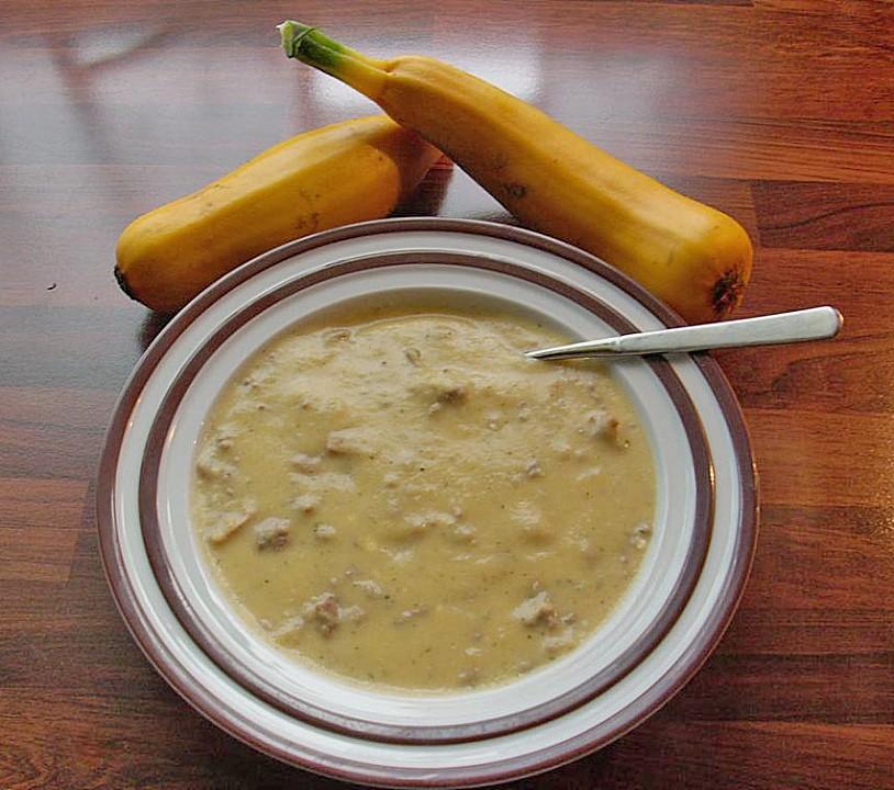 gelbe zucchinisuppe rezept mit bild von lucie179. Black Bedroom Furniture Sets. Home Design Ideas