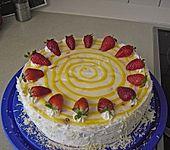 Erdbeer - Eierlikör - Torte (Bild)