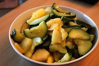 Apfel - Zucchinigemüse