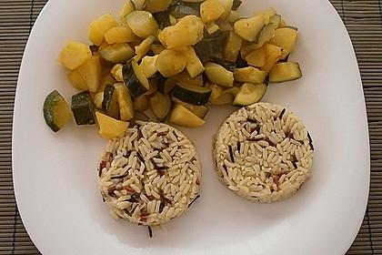 Apfel - Zucchinigemüse 1