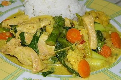 Thai Curry Erdnuss-Kokos-Hühnchen 36