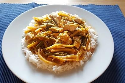 Thai Curry Erdnuss-Kokos-Hühnchen 30