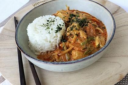 Thai Curry Erdnuss-Kokos-Hühnchen 1