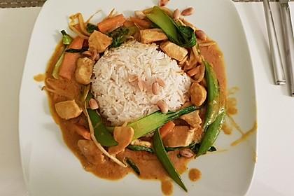 Thai Curry Erdnuss-Kokos-Hühnchen 6