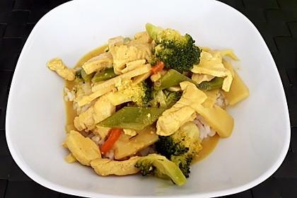 Thai Curry Erdnuss-Kokos-Hühnchen 27