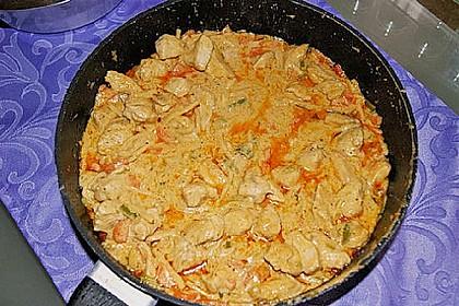 Thai Curry Erdnuss - Kokos - Hühnchen 51