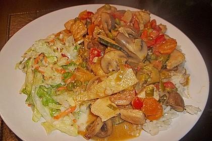 Thai Curry Erdnuss - Kokos - Hühnchen 34
