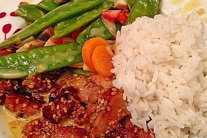 Thai Curry Erdnuss - Kokos - Hühnchen 17