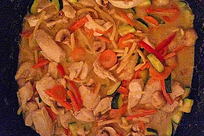 Thai Curry Erdnuss - Kokos - Hühnchen 56