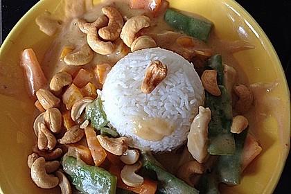 Thai Curry Erdnuss - Kokos - Hühnchen 26