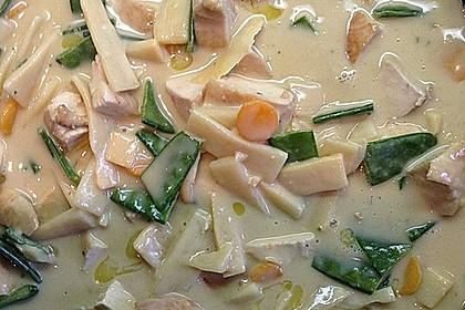 Thai Curry Erdnuss - Kokos - Hühnchen 24