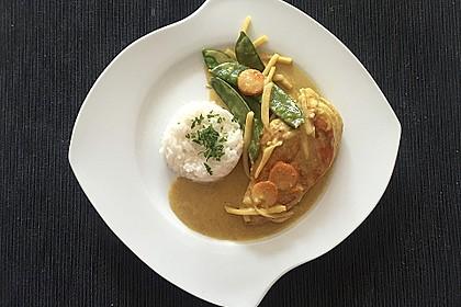 Thai Curry Erdnuss - Kokos - Hühnchen 11