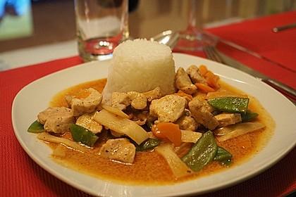 Thai Curry Erdnuss-Kokos-Hühnchen 21