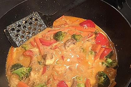 Thai Curry Erdnuss-Kokos-Hühnchen 69