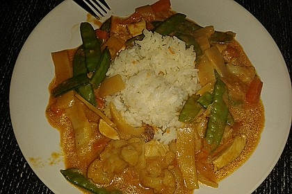Thai Curry Erdnuss - Kokos - Hühnchen 77