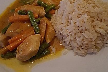 Thai Curry Erdnuss - Kokos - Hühnchen 29