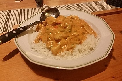 Thai Curry Erdnuss - Kokos - Hühnchen 58