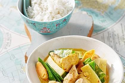 Thai Curry Erdnuss-Kokos-Hühnchen 2