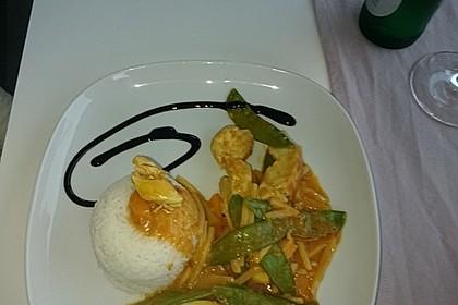 Thai Curry Erdnuss - Kokos - Hühnchen 49