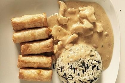 Thai Curry Erdnuss - Kokos - Hühnchen 38