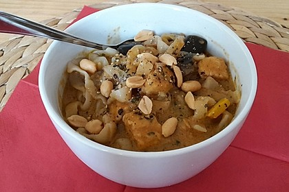 Thai Curry Erdnuss - Kokos - Hühnchen 67