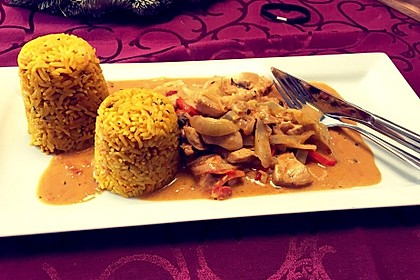 Thai Curry Erdnuss-Kokos-Hühnchen 56