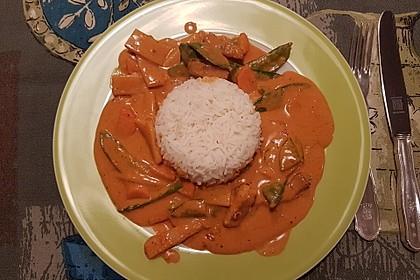 Thai Curry Erdnuss - Kokos - Hühnchen 64