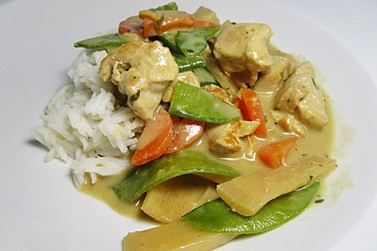 Thai Curry Erdnuss-Kokos-Hühnchen 5