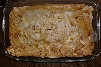 Orientalische Pastete mit Spinat und Schafskäse 6