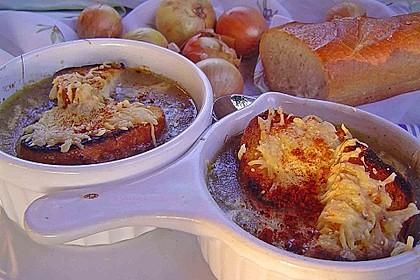 Zwiebelsuppe nach Art der legendären Pariser Marktfrauen 1