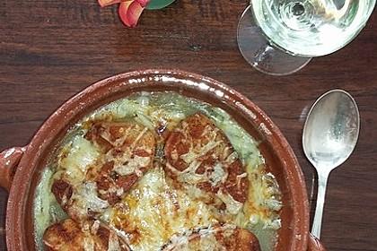 Zwiebelsuppe nach Art der legendären Pariser Marktfrauen 6