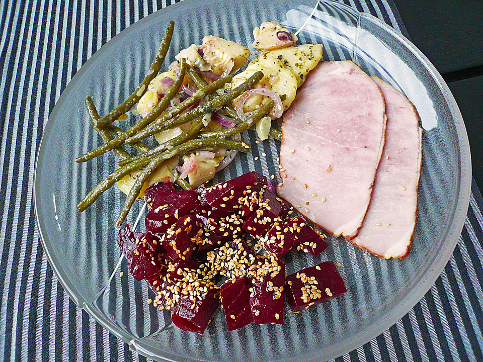 exotischer rote bete salat rezept mit bild von schaf76. Black Bedroom Furniture Sets. Home Design Ideas