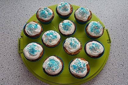 Apfel - Marzipan - Cupcakes mit Zimtsahne 8