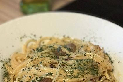 Salsiccia Carbonara all'italiamann