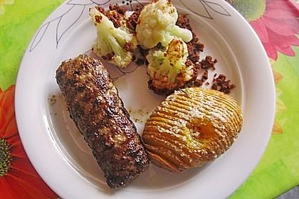 Bifteki mit Schafskäse 5